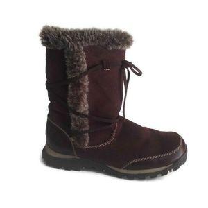 Skechers Grand Jams Instinctive Suede Winter Boots